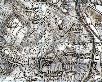 Extract from 1833 map