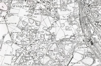 Extract from 1882 map