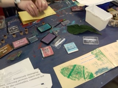 Printing with stamps